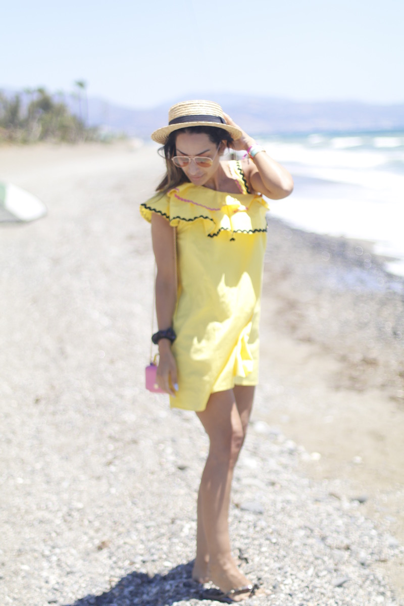 vestido amarillo bigger top fashion lifestyleblog